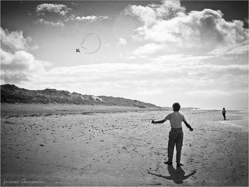 Le cerf-volant, 2016 © Jacques Charpentier