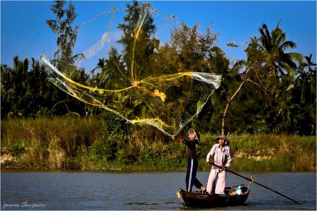 Pecheurs, Hoi Anh, Vietnam 2012, © Jacques Charpentier