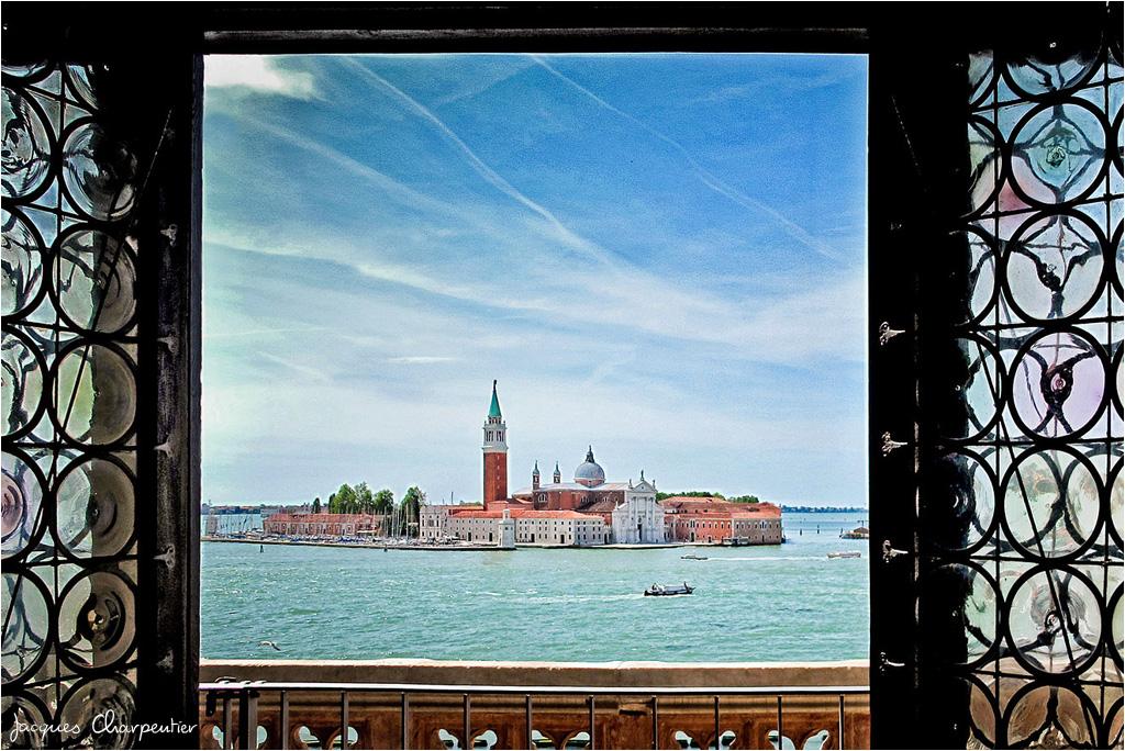 Vue sur Saint Georges Majeur, Venise 2012 © Jacques Charpentier