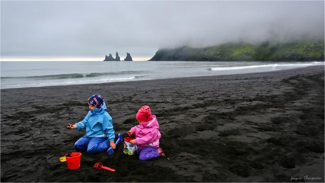 Jeu de sable noir, Islande Sud 2016 © Jacques Charpentier
