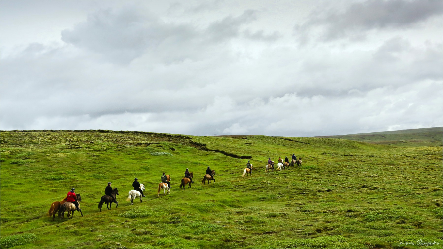 Sortie equestre, Islande 2016 © Jacques Charpentier