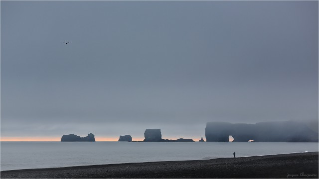 Reynisfjara, Islande 2016 © Jacques Charpentier
